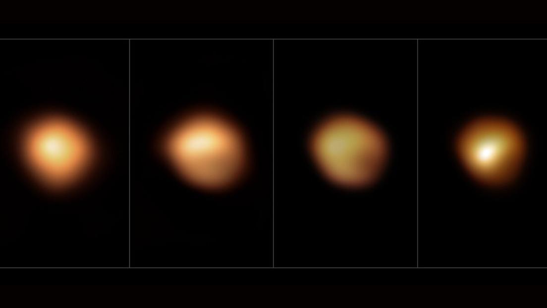 Resuelven el misterio de por qué la estrella supergigante roja Betelgeuse perdió brillo