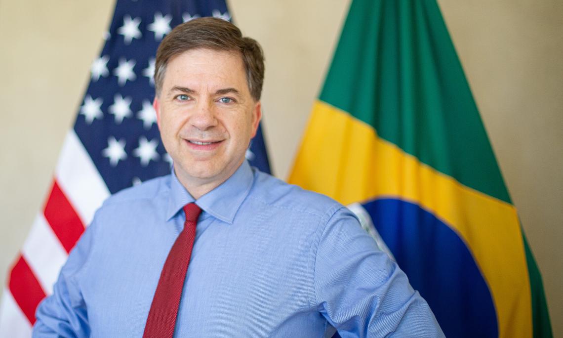 Renuncia el embajador de EEUU en Brasil designado por Trump