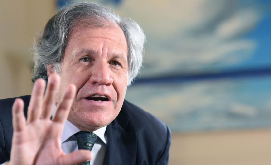 Secretario general OEA, Luis Almagro, da positivo al covid-19, pero dice no tiene síntomas
