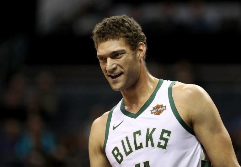 Brook López, de los Milwaukee Bucks