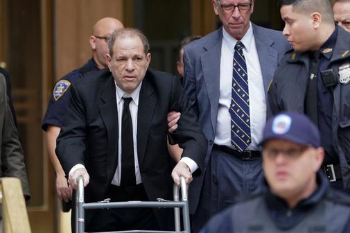 Harvey Weinstein rechaza acusaciones de agresión sexual y violación en Los Ángeles