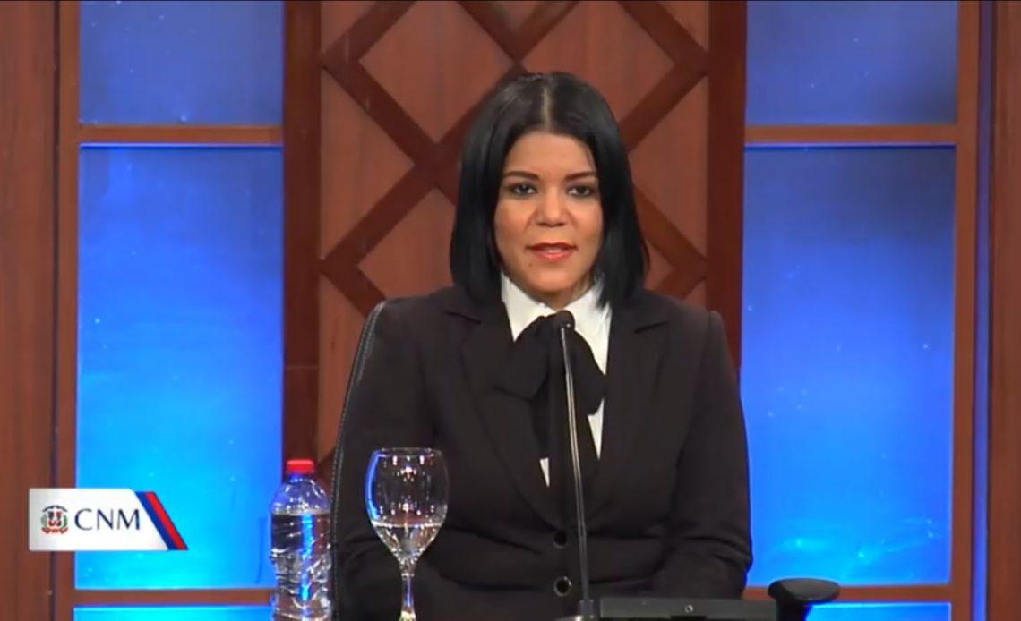 Jueza Cristina Perdomo