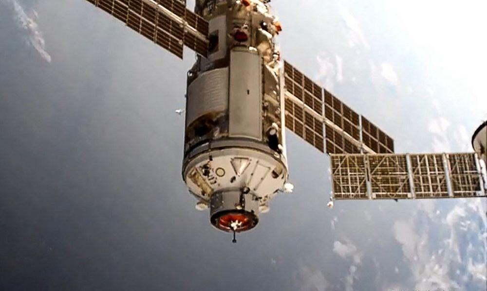 Módulo científico ruso Nauka se acopla con éxito a Estación Espacial Internacional