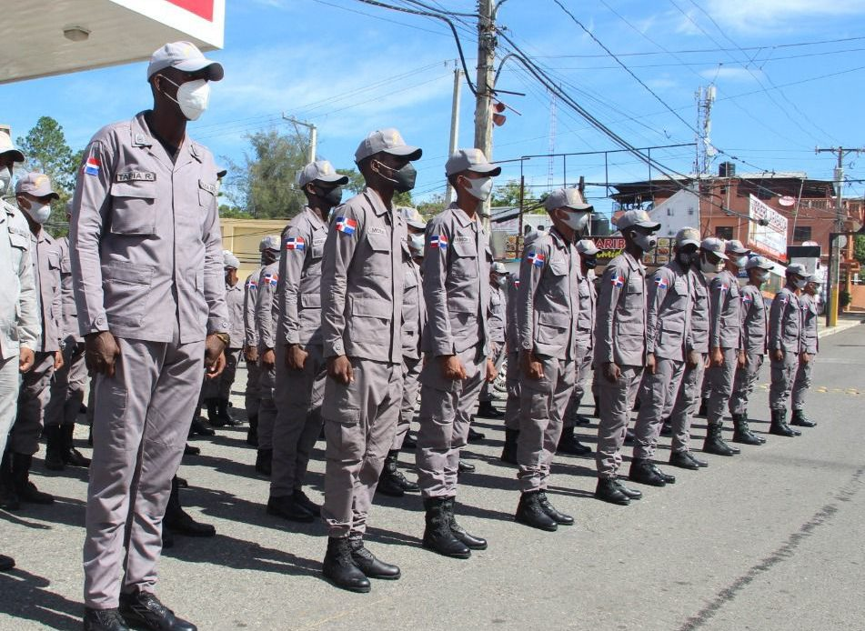 Policías en San Cristóbal