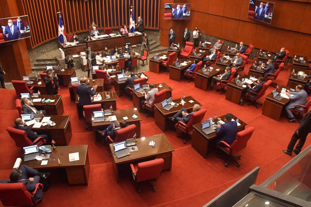 Sesión del Senado de la RD