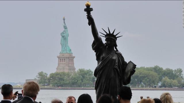 Washington ya tiene su Estatua de la Libertad; hermana de la de Nueva York