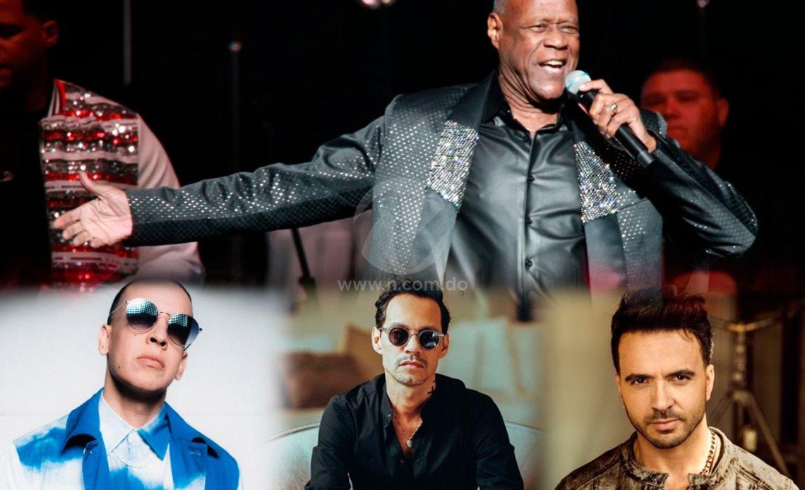 Luis Fonsi, Daddy Yankee y Marc Anthony entre los artistas que lamentan fallecimiento de Johnny Ventura
