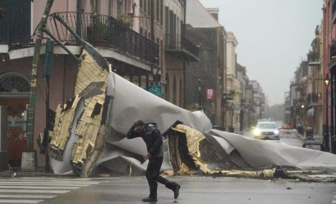 Luisiana reporta segunda víctima mortal tras paso de huracán Ida