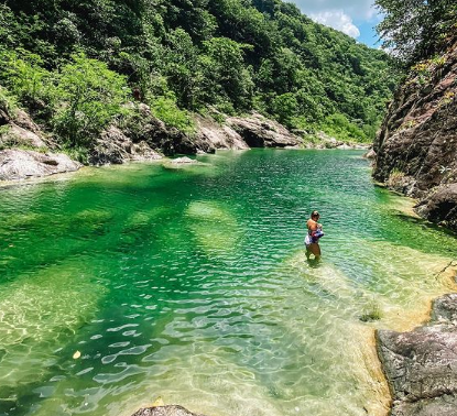 """Charco las """"Dos Aguas"""", un lugar que debes conocer en San José de Ocoa"""
