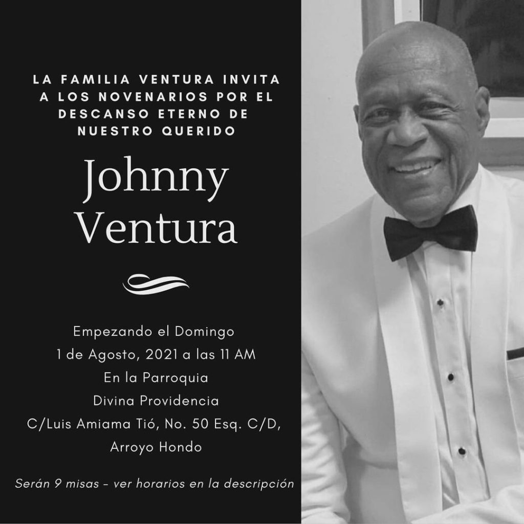 Novenarios Johnny Ventura