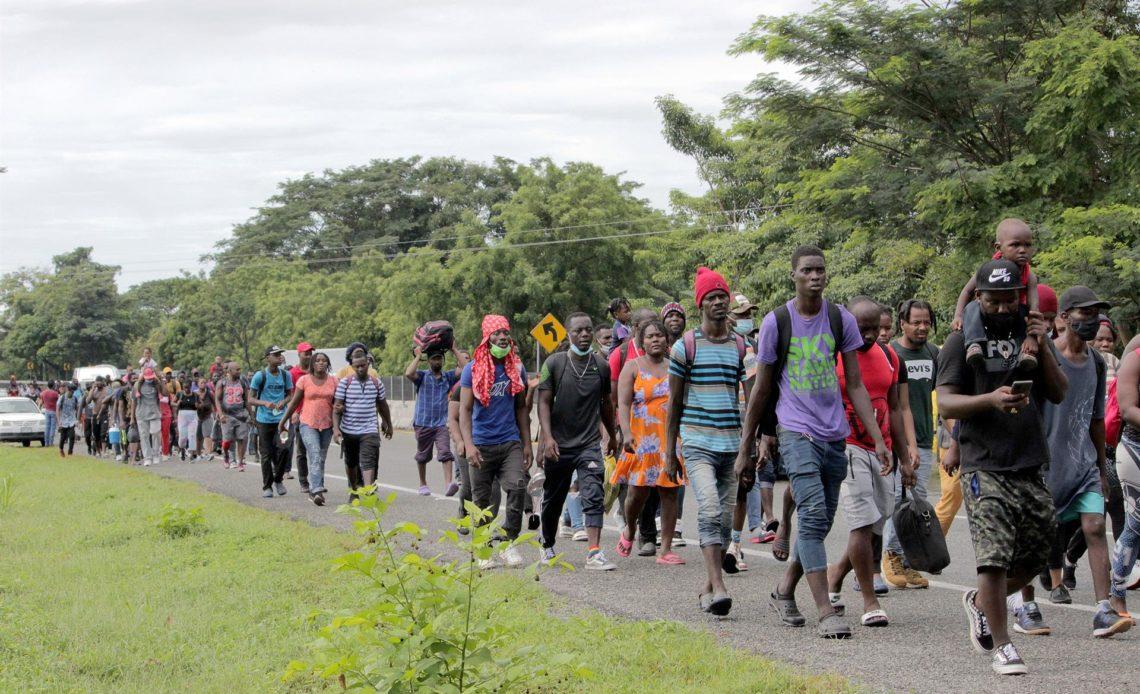"""México afirma que """"no tiene inconvenientes"""" en acoger a migrantes haitianos"""