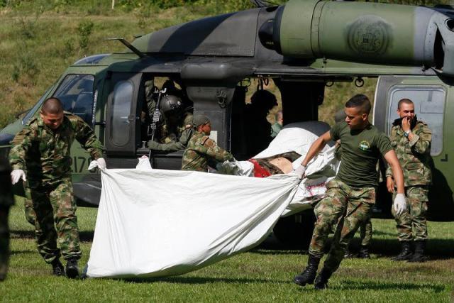 Abatidos en operación militar diez disidentes del acuerdo de paz de las FARC en Colombia