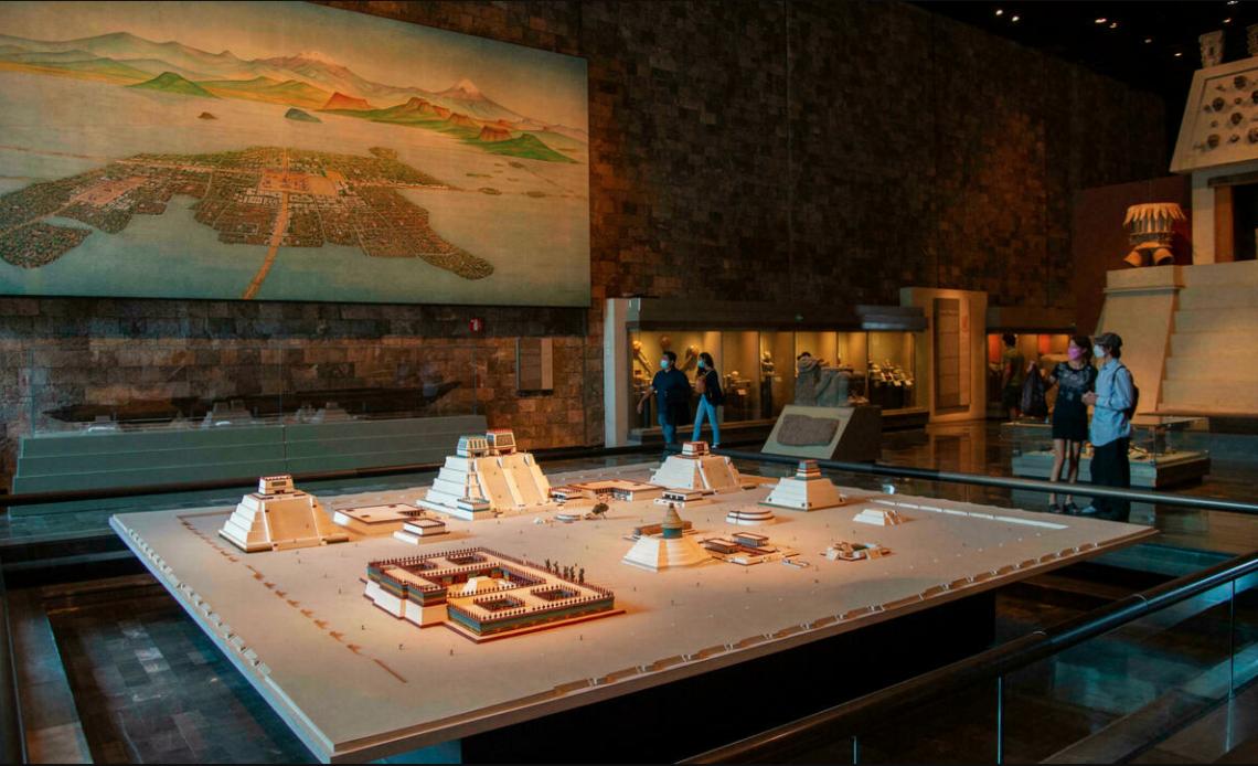 México expone su historia prehispánica en el Rockefeller Center de Nueva York