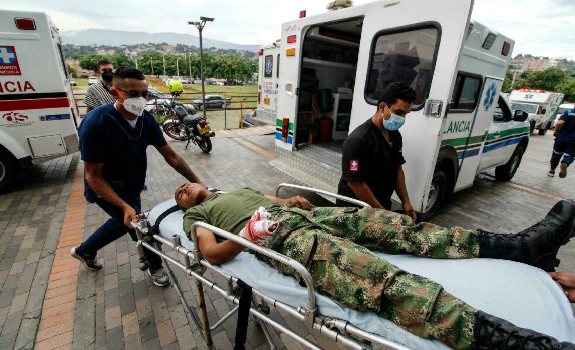 Cinco militares muertos en ataque del ELN en frontera de Colombia con Venezuela