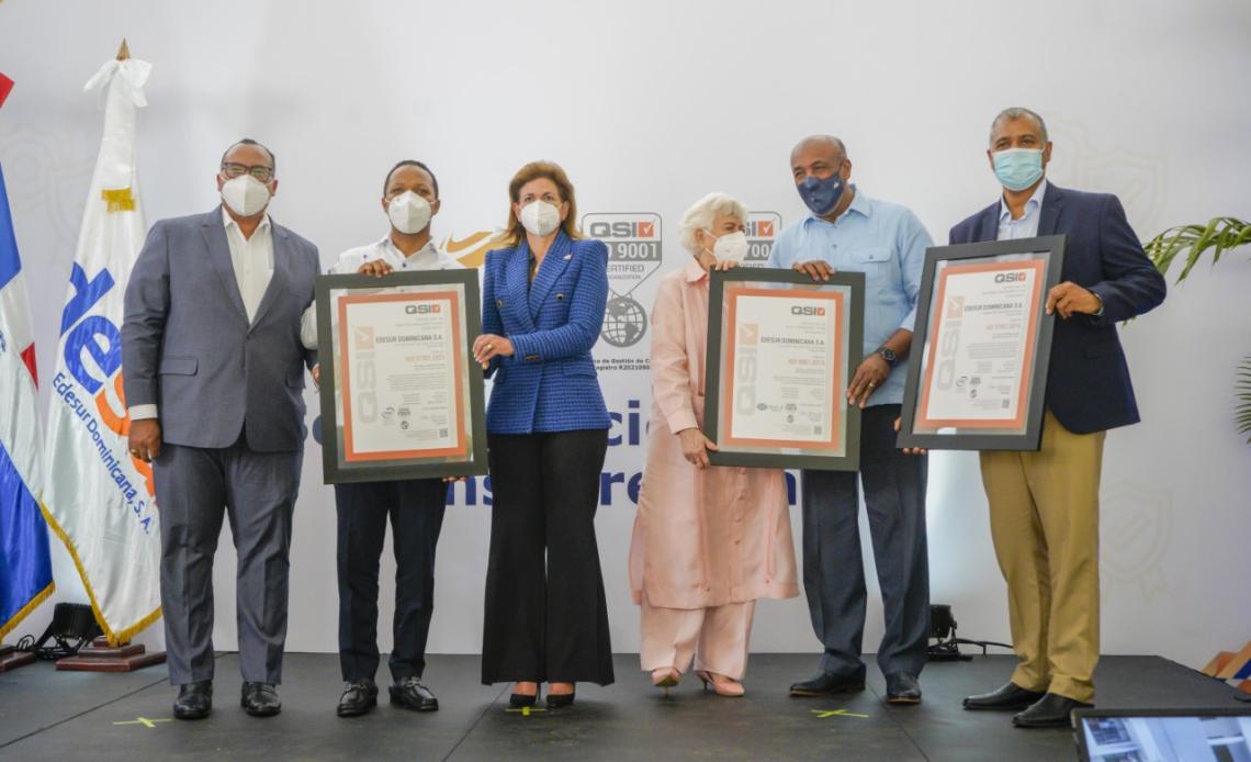 Edesur logra certificaciones internacionales bajo norma ISO; Antisoborno, Cumplimiento de Regulaciones y Calidad