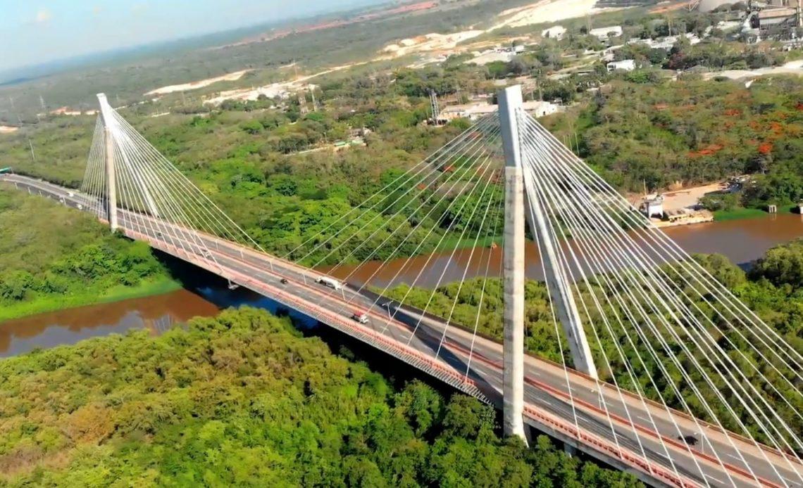 MOPC anuncia habilitará este martes carriles Este-Oeste en el puente Mauricio Báez