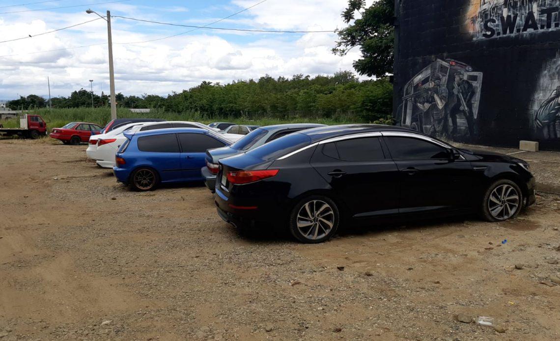 Cibao: PN apresa 22 personas y recupera 40 vehículos robados