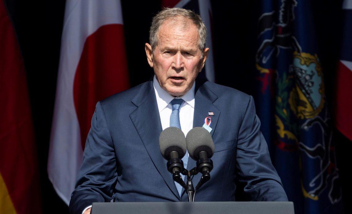 Bush defiende luchar contra los extremistas violentos dentro y fuera de EE.UU.