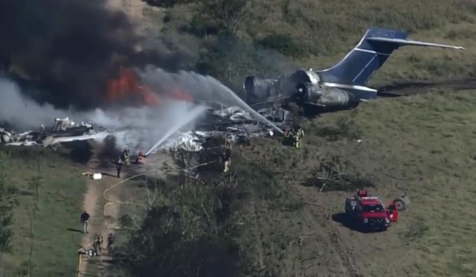 Video: avión se estrella en EE.UU. y sobreviven las 21 personas a bordo - N Digital