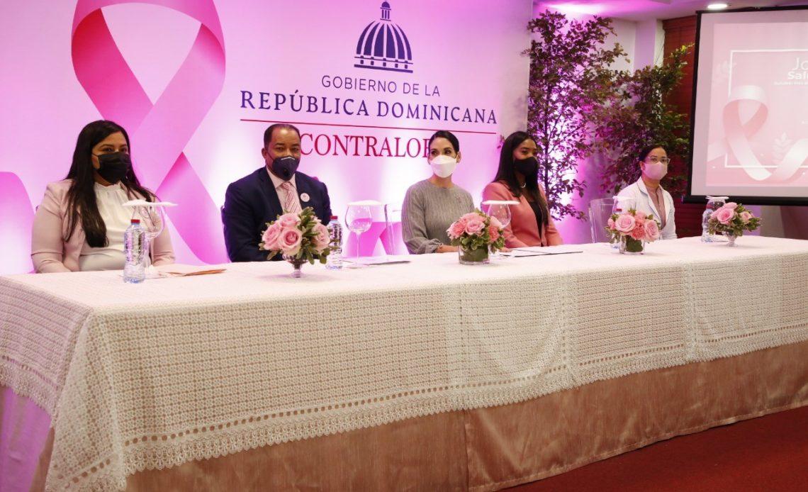 Primera dama y contralor de la República encabezan jornada de salud femenina por prevención del Cáncer de Mama